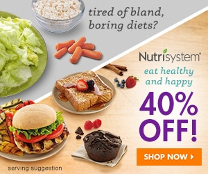 Nutrisystem 40% Off Eat Healthy