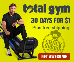 total gym 30 day trial